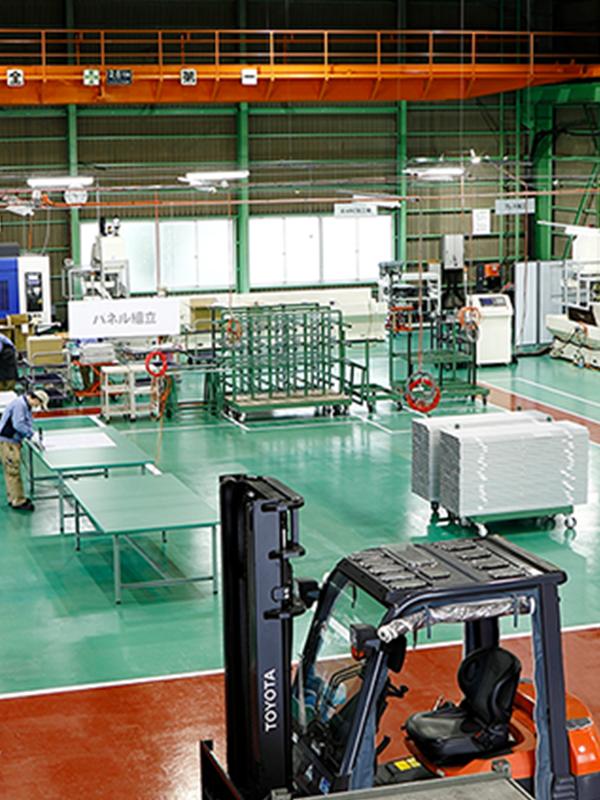 QUALITY&TECHNIC 工場風景